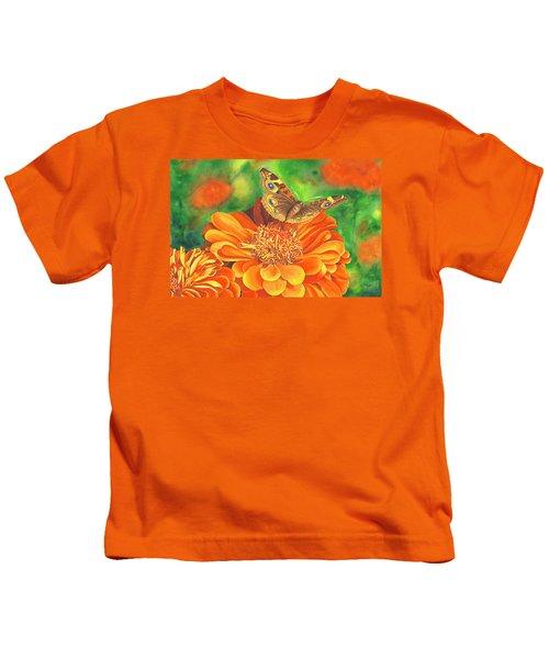 Zinnia Runway Kids T-Shirt
