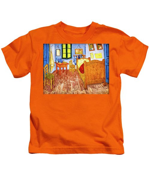 Van Gogh's Bedroom Kids T-Shirt