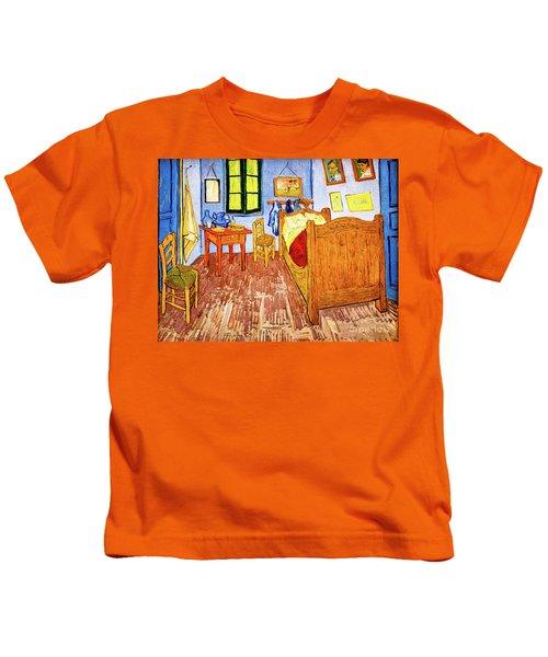 Van Gogh's Bedroom Kids T-Shirt