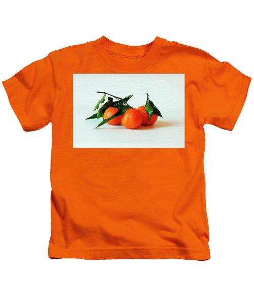 11--01-13 Studio. 3 Clementines Kids T-Shirt