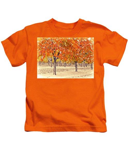 A Touch Of Winter Kids T-Shirt