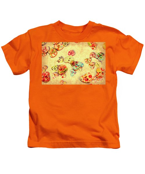 A Weathered Tailors Abstract Kids T-Shirt