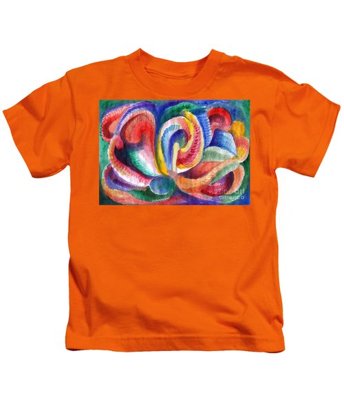 Abstraction Bloom Kids T-Shirt