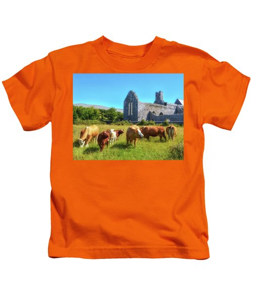 Ancient Cows Kids T-Shirt