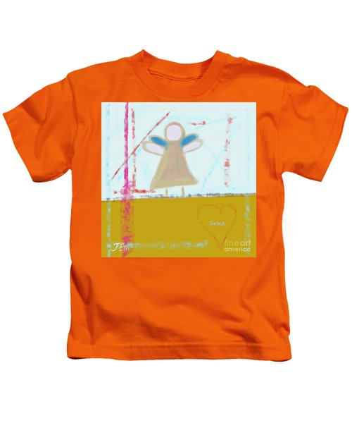 Angel Of Grace Kids T-Shirt