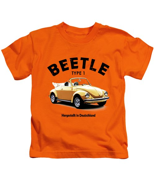 Vw Beetle 1972 Kids T-Shirt