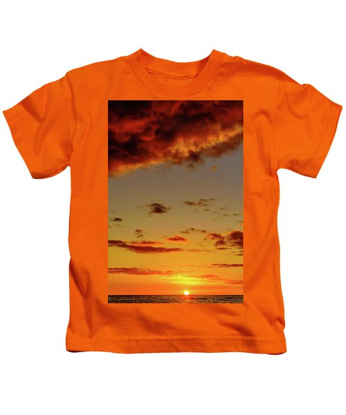 As The Sun Touches Kids T-Shirt