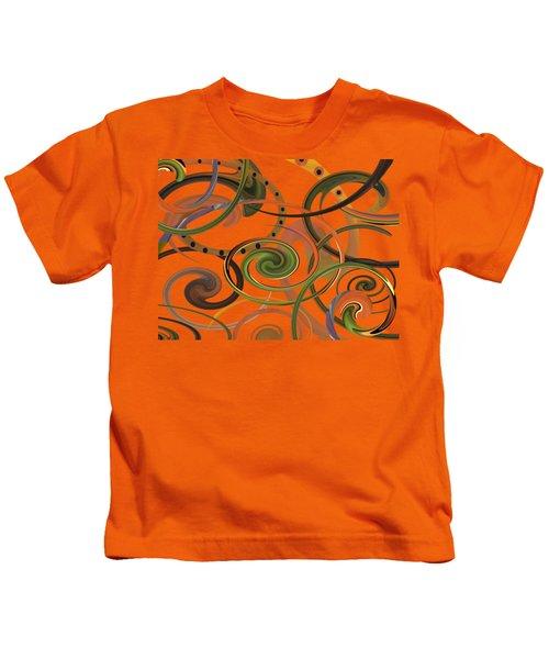 Autumn Dance Kids T-Shirt