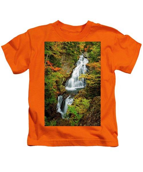 Autumn Falls, Crystal Cascade Kids T-Shirt