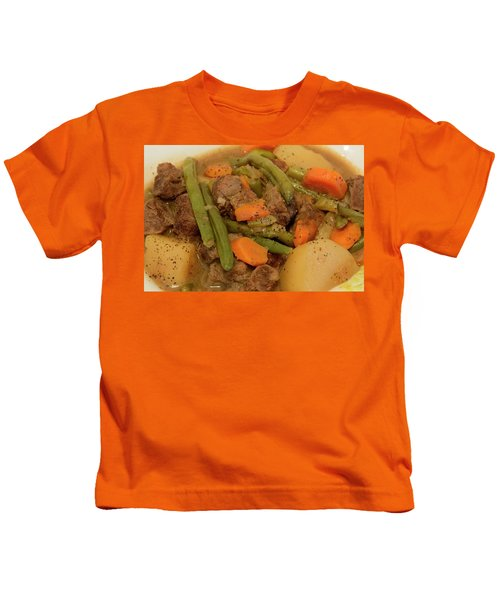 Beef Stew Serving Kids T-Shirt
