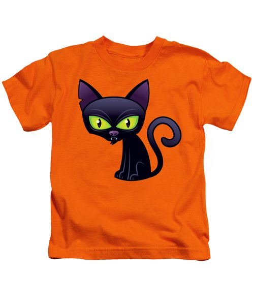 Black Cat Kids T-Shirt