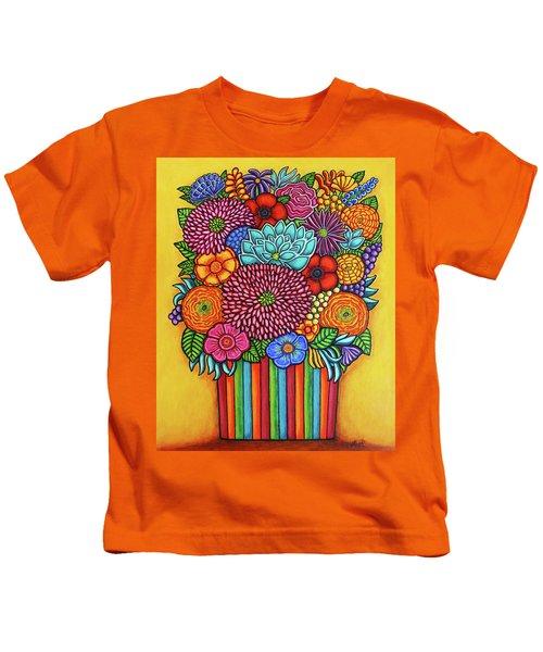 Celebration Bouquet Kids T-Shirt