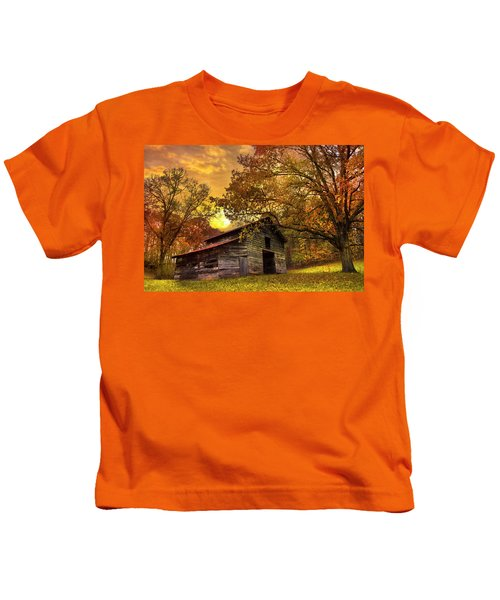 Chill Of An Early Fall Kids T-Shirt