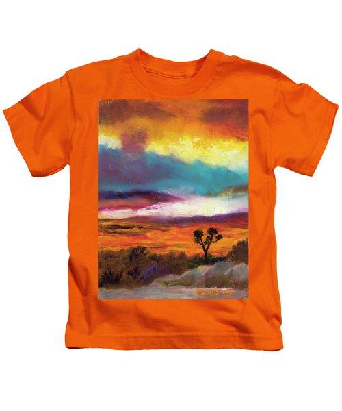Cindy Beuoy - Arizona Sunset Kids T-Shirt