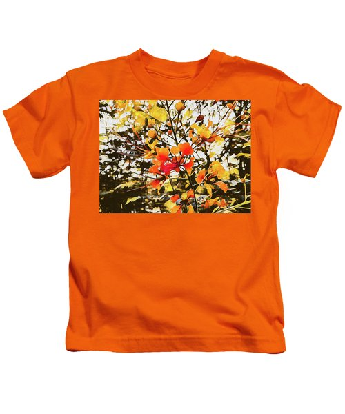 Colourful Leaves Kids T-Shirt
