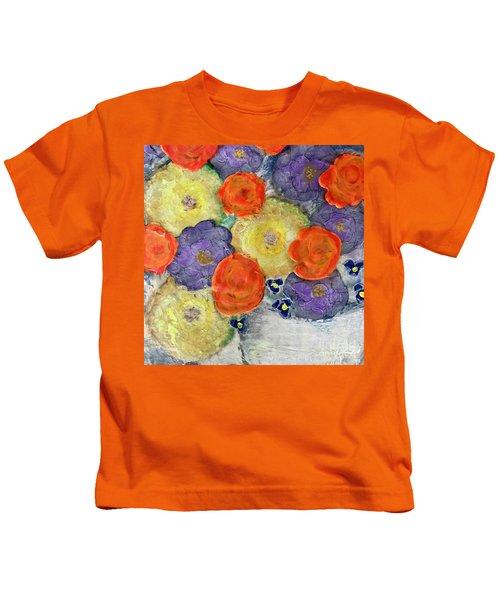 Crochet Bouquet Kids T-Shirt