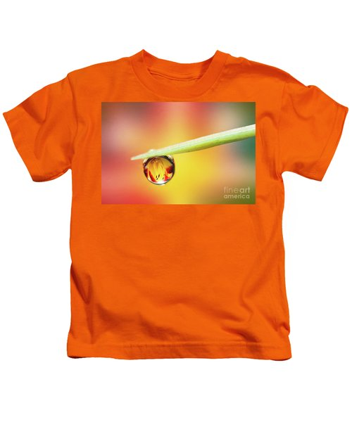 Daylily In A Droplet Kids T-Shirt