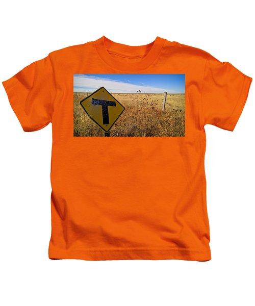 Decision Time Kids T-Shirt