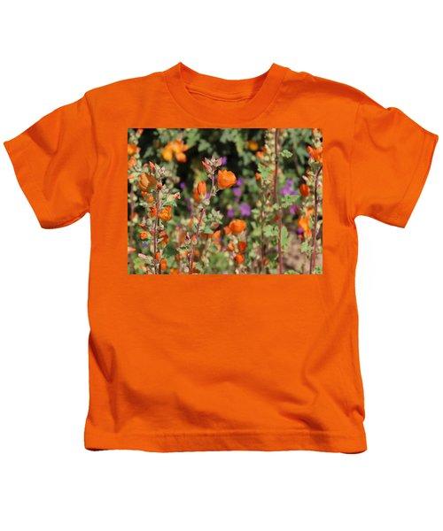 Desert Wildflowers Kids T-Shirt