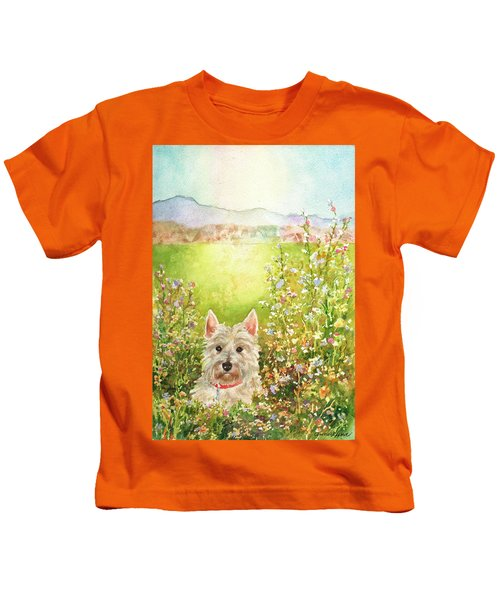 Doggie Heaven Kids T-Shirt