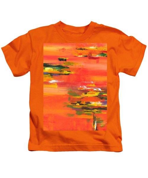 Exploring Evening Kids T-Shirt