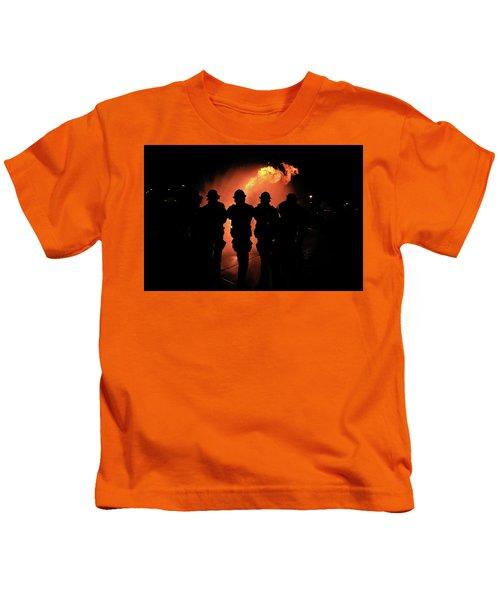 Fire Dragon Kids T-Shirt
