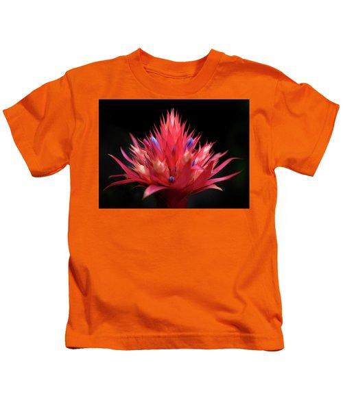 Flaming Flower Kids T-Shirt