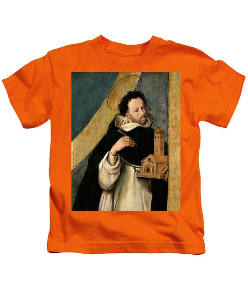Fray Juan Bautista Maino / 'saint Dominic', 1612-1614, Spanish School. Kids T-Shirt