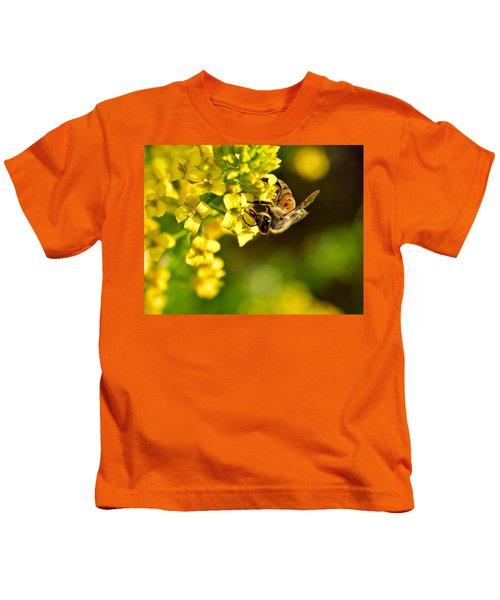 Gathering Pollen Kids T-Shirt