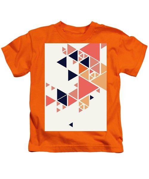 Geometric Painting 1 Kids T-Shirt