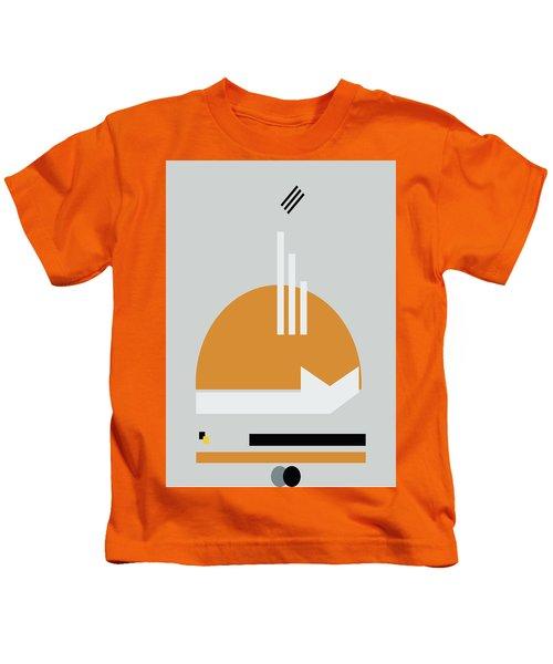 Geometric Painting 8 Kids T-Shirt