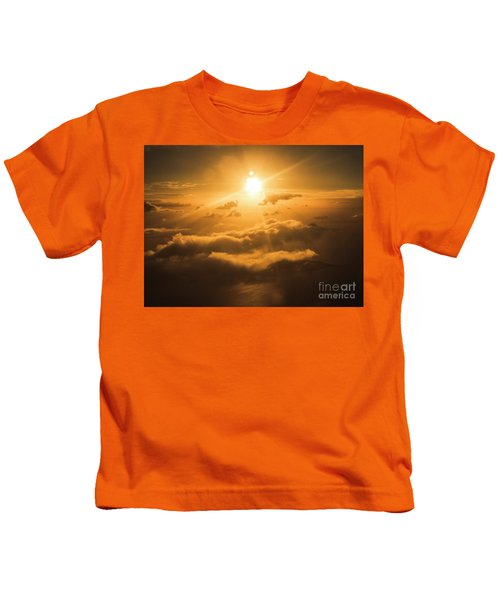 Golden Glow Kids T-Shirt