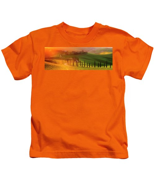 Golden Tuscany II Kids T-Shirt
