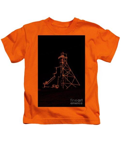 Headframe Lit For The Holidays Kids T-Shirt