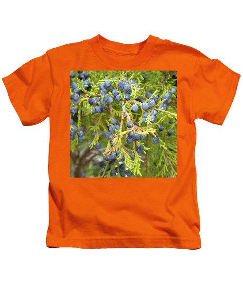 Juniper Berries Kids T-Shirt