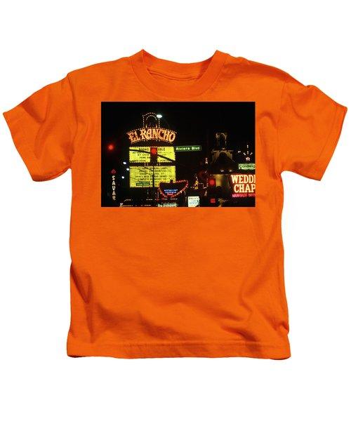 Las Vegas 1984 #13 Kids T-Shirt