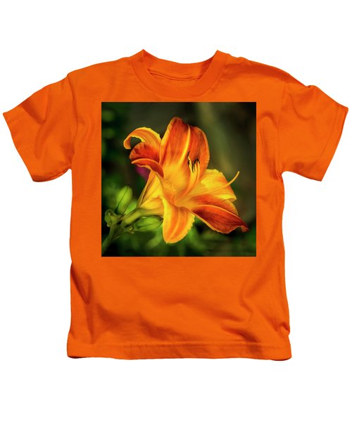 Lily Of The Day Kids T-Shirt