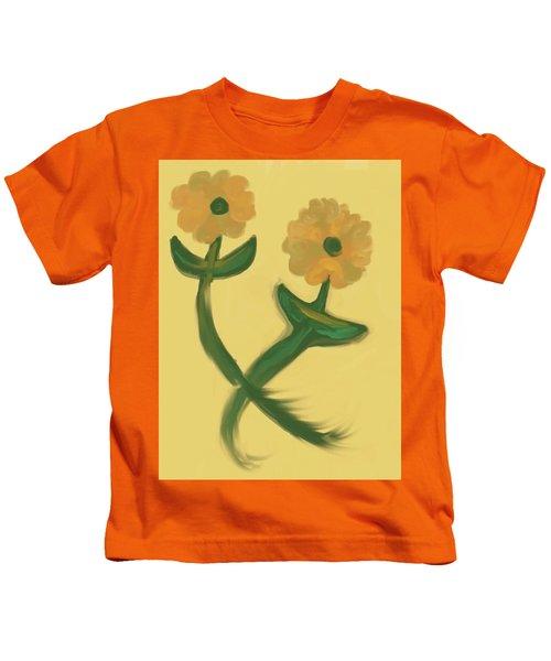 Love In Bronze Kids T-Shirt