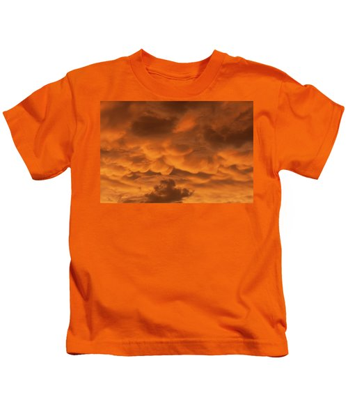 Mammatus Clouds Kids T-Shirt