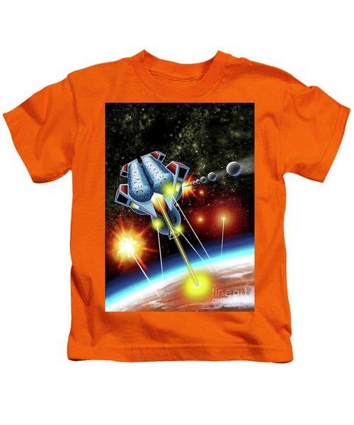 Mangle Atacks Nisip Kids T-Shirt