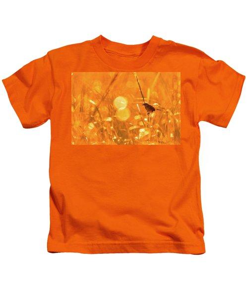 Marsh Sparrow Kids T-Shirt