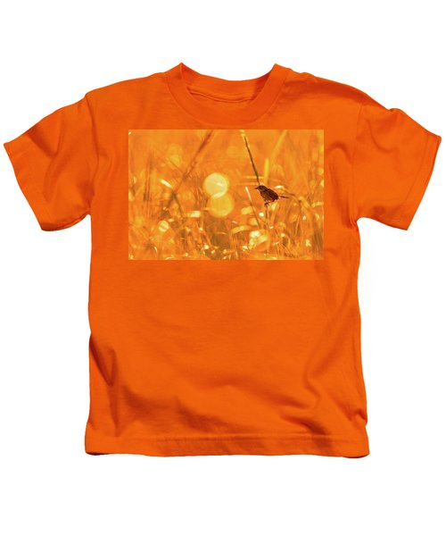 Marsh Sparrow Kids T-Shirt