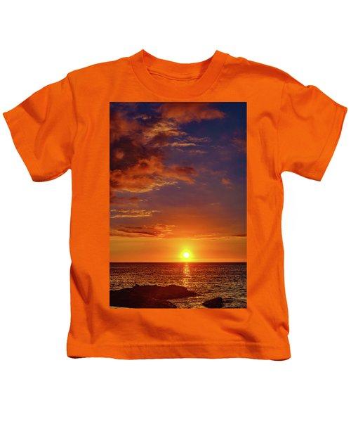 Monday Sunset Kids T-Shirt