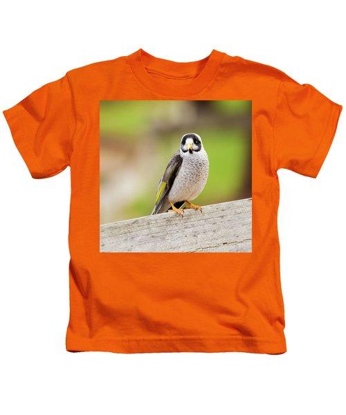 Noisy Miner Kids T-Shirt