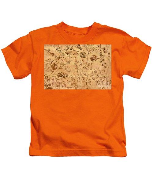 Paper Petal Patterns Kids T-Shirt