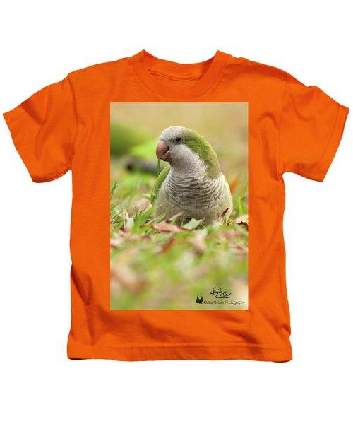 Quaker Parrot #3 Kids T-Shirt