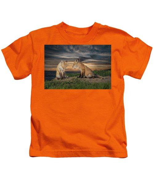 Red Fox Kits - Past Curfew Kids T-Shirt