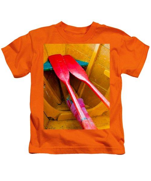 Red Oars Kids T-Shirt