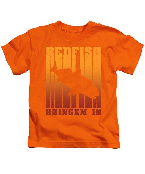 Redfish Dusk Patrol Kids T-Shirt