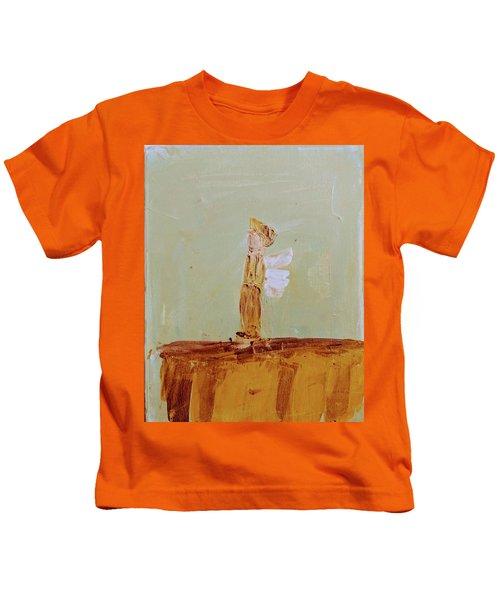 Simply Sweet Angel Boy Kids T-Shirt